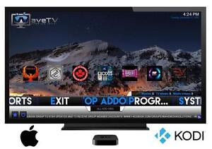 WAVE MEDIA®  APPLE TV 4 + Kodi iOS *UNLIMITED ON DEMAND* RATED #1* ANDROID BOX ALTERNITIVE