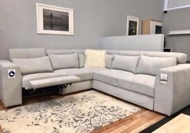 Great Multi - functions CORNER SOFA BED with storage box and ELECTRIC RECLINER ** SUPERB DEAL **