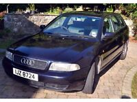 Audi A4 Avant 1.9 TDI 90 bhp - January 1999 Ming Blue