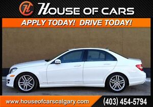 2014 Mercedes-Benz C-Class C300 4MATIC  *$252 Bi-Weekly with $0