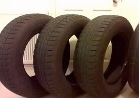 Tyres GOOD YEAR 255 65 17 in VGC set of 4 or 2