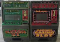 2 ELECTRONIC GAMING/SLOT MACHINES