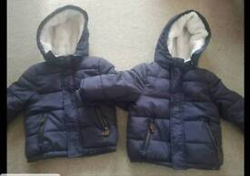 12-18 month coats