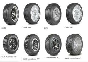 FREE SHIPPING - WHOLESALE CAR, SUV AND VAN TIRES - BRAND NEW TIRES WITH FREE SHIPPING!! FACTORY DIRECT SALE - CALL NOW!!