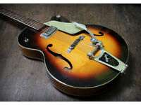 CAN POST. Gretsch 6124 Anniversary Guitar from 1958. Bigsby Tremolo.