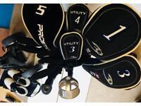 Golf Bundle - Clubs, Bag, Trolley, Nike Shoes (9) & Balls