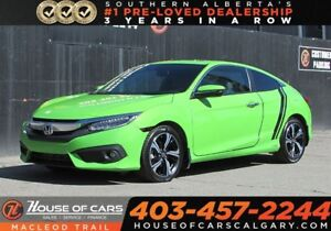 2016 Honda Civic Touring/SUN ROOF/HEATED SEAT