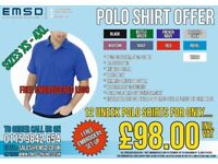 Workwear - Polo Shirt Offer