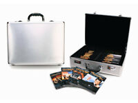James Bond DVD Box Set Inc Attache Case