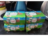 Heinz Baby jars