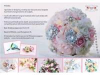 Customised Artificial flower bouquet arrangements for sale