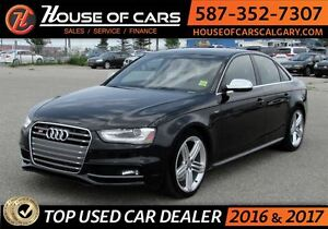 2013 Audi S4 3.0T (S tronic) /AWD / Leather /Sunroof