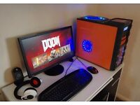 Cool-master 4K Gaming PC Quad Core / 8GB / 3GB Radeon HD7950 / SDD /Extras