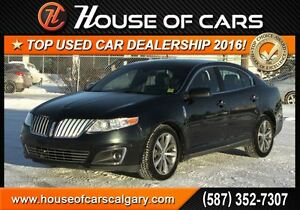 2010 Lincoln MKS GTDI / Navigation / Sunroof / Leather Seats