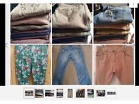 RP£500/ 40pairs size 14 16 jeans jot new and used inc River Island 20pairs NEW