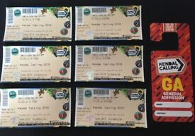 Kendal Calling Tickets x 3 (2 adults and 1 teen (11-15)