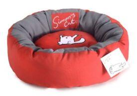 Brand New - Simons Cat Donut Bed