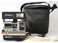 Polaroid Supercolor 635, working, good condition, with manual and bag.