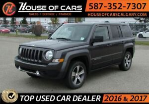 2016 Jeep Patriot High Altitude / 4WD / Sun Roof / Leather