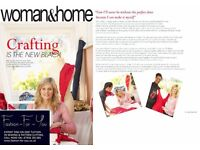 ONE-ON-ONE PATTERN CUTTING AND SEWING TUITION - £25 PER HOUR. AVAILABLE AT MY HOME OR YOUR PREMISES