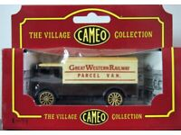 Corgi Cameo The Village Collection D753 AEC Cabover - Great Western Railway Parcel Van