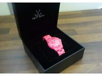 Pink Toy Watch Brand New Boxed RRP 90+