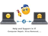 Computer Repair, Help and Support with your PC, MAC, Laptop. Quick Fixing, Quality Service in London