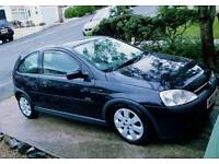 Vauxhall Corsa C 1.2 Petrol Black Great First Car