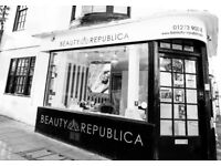 Full time, fully qualified Beauty Therapist required for a busy beauty salon based in Brighton