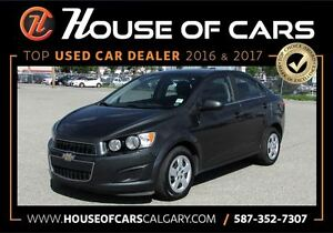 2016 Chevrolet Sonic LT / Backup Camera