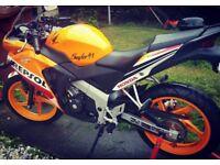 Cbr 125cc Repsol - 2455 miles