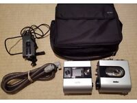 ResMed S9 Autoset EPR CPAP APAP machine + humidifier + heated hose + bag - Excellent condition