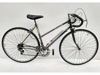 vintage ladies Dawes Shadow steel racing/touring bicycle