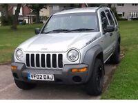 Jeep Cherokee 3.7 Auto Sport, MOT, Low Miles & AT Tyres