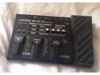 Boss me25 me 25 multi effects pedal