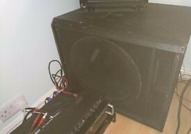 2 Speakers, Subwoofer And Crossover - Full Package Ready to Use!!!
