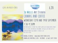 Canvas and Coffee - ADDED DATE September 5th