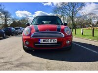 2010 mini cooper D --- Manual --- Low Miles 41000 only --- Diesel --- Shiny Red colour --- Mini 2010