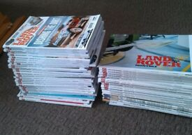 Land Rover Monthly magazine bundle