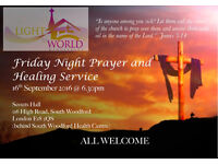 Friday Prayer and Healing Service
