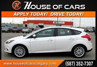 2013 Ford Focus Titanium W/ Leather & Sunroof