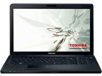 Toshiba Satillite C665 Laptop With Charger ... BARGAIN ... 125