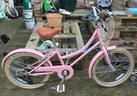 """Bobbin Bicycle Gingersnap 20"""" (Would suit children aged 7-9) with 3 Gears & Stand"""