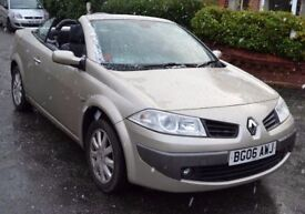 Renault Megane Convertible 2006 1.6 Petrol 12 month MOT Good Runner