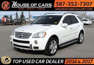 2008 Mercedes-Benz M-Class ML550 4MATIC AMG PACKAGE w/ Navi and