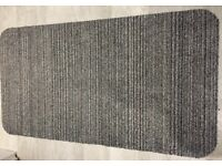 Two identical floor runners in very good condition, 149cm x 80cm