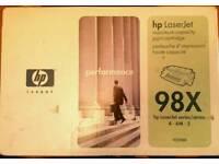New Hp 98X high capacity toner cartridge 92298X for series 4 4M 5 etc