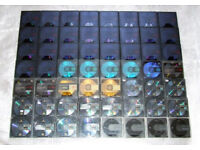 Used blank MiniDisc's - 89 discs - see description