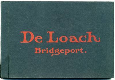 1909 Bridgeport Jackson County Alabama Catalog Saw Mill Machines Deloach Company