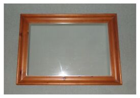 Large Mirror, chunky frame.